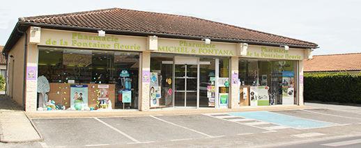 Pharmacie Fontana, Pharmacie de la Fontaine Fleurie,Bergerac