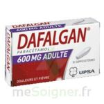 DAFALGAN ADULTES 600 mg, suppositoire à Bergerac