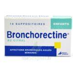 BRONCHORECTINE AU CITRAL ENFANTS, suppositoire à Bergerac
