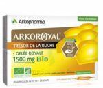 Arkoroyal Gelée royale bio 1500 mg Solution buvable 20 Ampoules/10ml à Bergerac