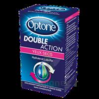 Optone Double Action Solution Oculaire Yeux Secs Fl/10ml à Bergerac