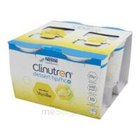 Clinutren Dessert 2.0 Kcal Nutriment Vanille 4cups/200g à Bergerac