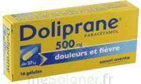 DOLIPRANE 500 mg Gélules B/16 à Bergerac