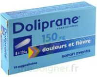 DOLIPRANE 150 mg Suppositoires 2Plq/5 (10) à Bergerac