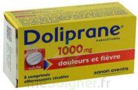 DOLIPRANE 1000 mg Comprimés effervescents sécables T/8 à Bergerac