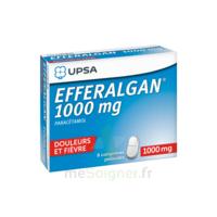Efferalgan 1000 Mg Comprimés Pelliculés Plq/8 à Bergerac