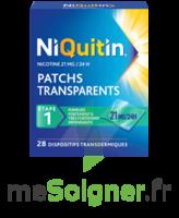 NIQUITIN 21 mg/24 heures, dispositif transdermique Sach/28 à Bergerac