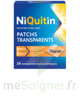 NIQUITIN 14 mg/24 heures, dispositif transdermique Sach/28 à Bergerac