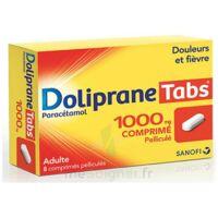 Dolipranetabs 1000 Mg Comprimés Pelliculés Plq/8 à Bergerac