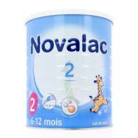 NOVALAC LAIT 2, 6-12 mois BOITE 800G à Bergerac