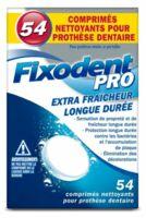 Fixodent Pro Comprimés Nettoyant Fraîcheur Longue Durée Pour Prothèse Dentaire B/54 à Bergerac