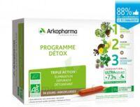 Arkofluide Bio Ultraextract Coffret programme détox 3x10 Ampoules/10ml à Bergerac