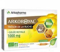 Arkoroyal Gelée royale bio 1000 mg Solution buvable 20 Ampoules/10ml à Bergerac
