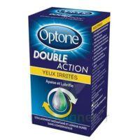 Optone Double Action Solution Oculaire Yeux Irrités Fl/10ml à Bergerac