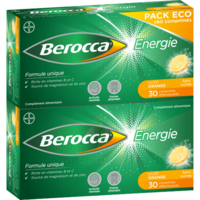 Berocca Energie Comprimés Effervescents Orange B/60 à Bergerac
