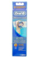 BROSSETTE DE RECHANGE ORAL-B PRECISION CLEAN x 3 à Bergerac