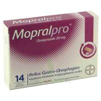 MOPRALPRO 20 mg Cpr gastro-rés Film/14 à Bergerac