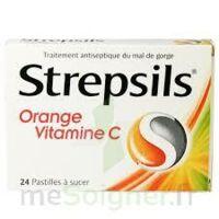 STREPSILS ORANGE VITAMINE C, pastille à Bergerac