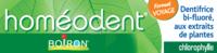 Boiron Homéodent Soin Complet Dents Et Gencives Pâte Dentifrice Chlorophylle Format Voyage T/25ml à Bergerac