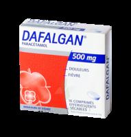 DAFALGAN 500 mg Comprimés effervescents sécables Film/16 à Bergerac