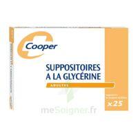 SUPPOSITOIRES A LA GLYCERINE COOPER Suppos en récipient multidose adulte Sach/25 à Bergerac