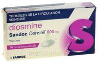 DIOSMINE SANDOZ CONSEIL 600 mg, comprimé pelliculé à Bergerac