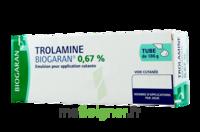 TROLAMINE BIOGARAN 0,67 % Emuls appl cut T/186g à Bergerac