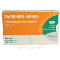NIFUROXAZIDE TEVA CONSEIL 200 mg, gélule à Bergerac