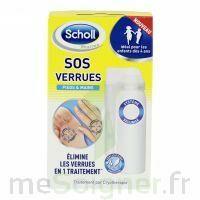 Scholl SOS Verrues traitement pieds et mains à Bergerac