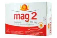 MAG 2 122 mg S buv en ampoule sans sucre édulcoré à la saccharine sodique 30Amp/10ml à Bergerac