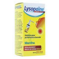 LysopaÏne Ambroxol 17,86 Mg/ml Solution Pour Pulvérisation Buccale Maux De Gorge Sans Sucre Menthe Fl/20ml à Bergerac