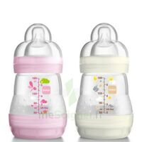 MAM BIBERON EASY START anti-colique 160 ml lot de 2_ROSE & BEIGE CLAIR à Bergerac
