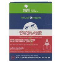 Moustikologne Recharge Diffuseur Anti-moustiques Liquide 45 Nuits à Bergerac
