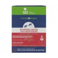 MOUSTIKOLOGNE Recharge diffuseur anti-moustiques tablettes 20 nuits à Bergerac