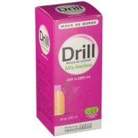 DRILL MAUX DE GORGE ALFA AMYLASE 200 U.CEIP/ml, sirop à Bergerac