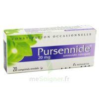 PURSENNIDE 20 mg, comprimé enrobé à Bergerac