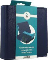 PLIC CARE Pilulier jumbo bleu à Bergerac