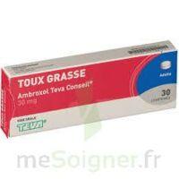 AMBROXOL TEVA CONSEIL 30 mg, comprimé à Bergerac