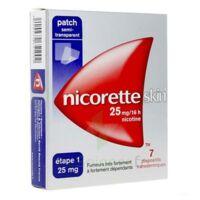 Nicoretteskin 25 mg/16 h Dispositif transdermique B/28 à Bergerac