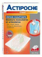 Actipoche Patch chauffant douleurs musculaires B/2 à Bergerac