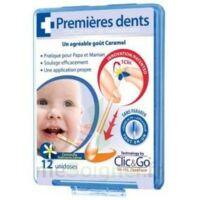 CLIC&GO Solution poussée dentaire bébé 12 Unidoses à Bergerac