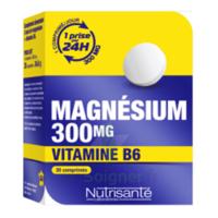 NUTRISANTE Magnésium 300 mg + Vitamine B6 Comprimés B/30 à Bergerac