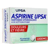 ASPIRINE UPSA TAMPONNEE EFFERVESCENTE 1000 mg, comprimé effervescent à Bergerac