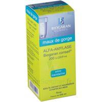 ALFA-AMYLASE BIOGARAN CONSEIL 200 U.CEIP/ml, sirop à Bergerac