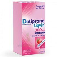 DOLIPRANELIQUIZ 300 mg Suspsion buvable en sachet sans sucre édulcorée au maltitol liquide et au sorbitol B/12 à Bergerac