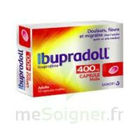 IBUPRADOLL 400 mg Caps molle Plq/10 à Bergerac