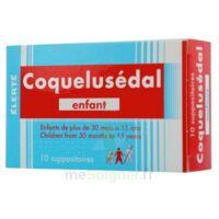 COQUELUSEDAL ENFANTS, suppositoire à Bergerac
