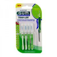 Gum Trav - Ler, 1,1 Mm, Manche Vert , Blister 4 à Bergerac