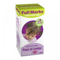 Full Marks Lotion antipoux et lentes 100ml+peigne à Bergerac