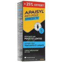 Apaisyl anti-poux Xpress 15' 250ml _ 25% offert à Bergerac